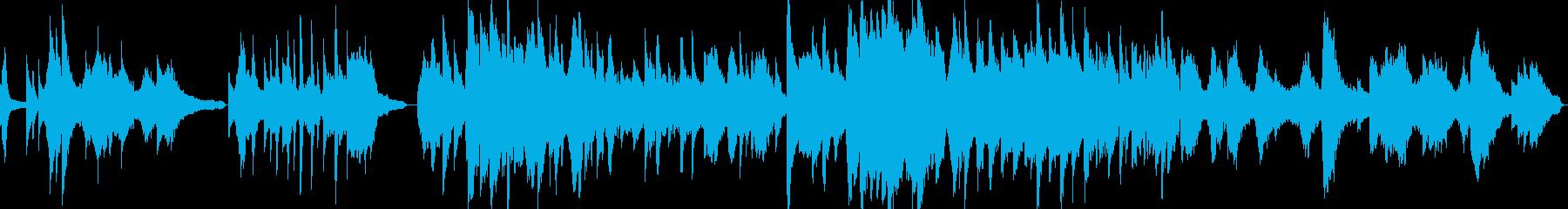 胡弓+ピアノの切なげな中華系の曲の再生済みの波形