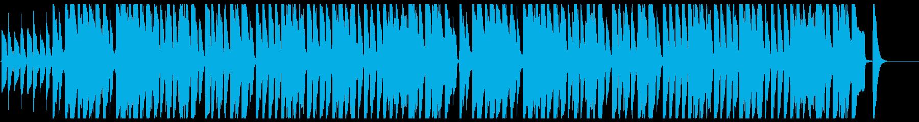 鉄琴とピアノの少しメルヘンで弾んだ曲の再生済みの波形