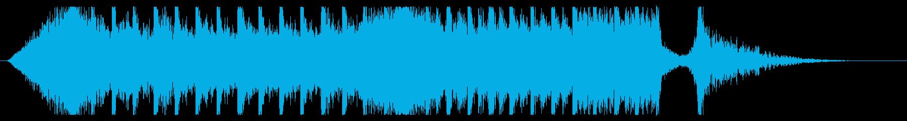 切ないきらきらピアノジングル③ 映画風の再生済みの波形