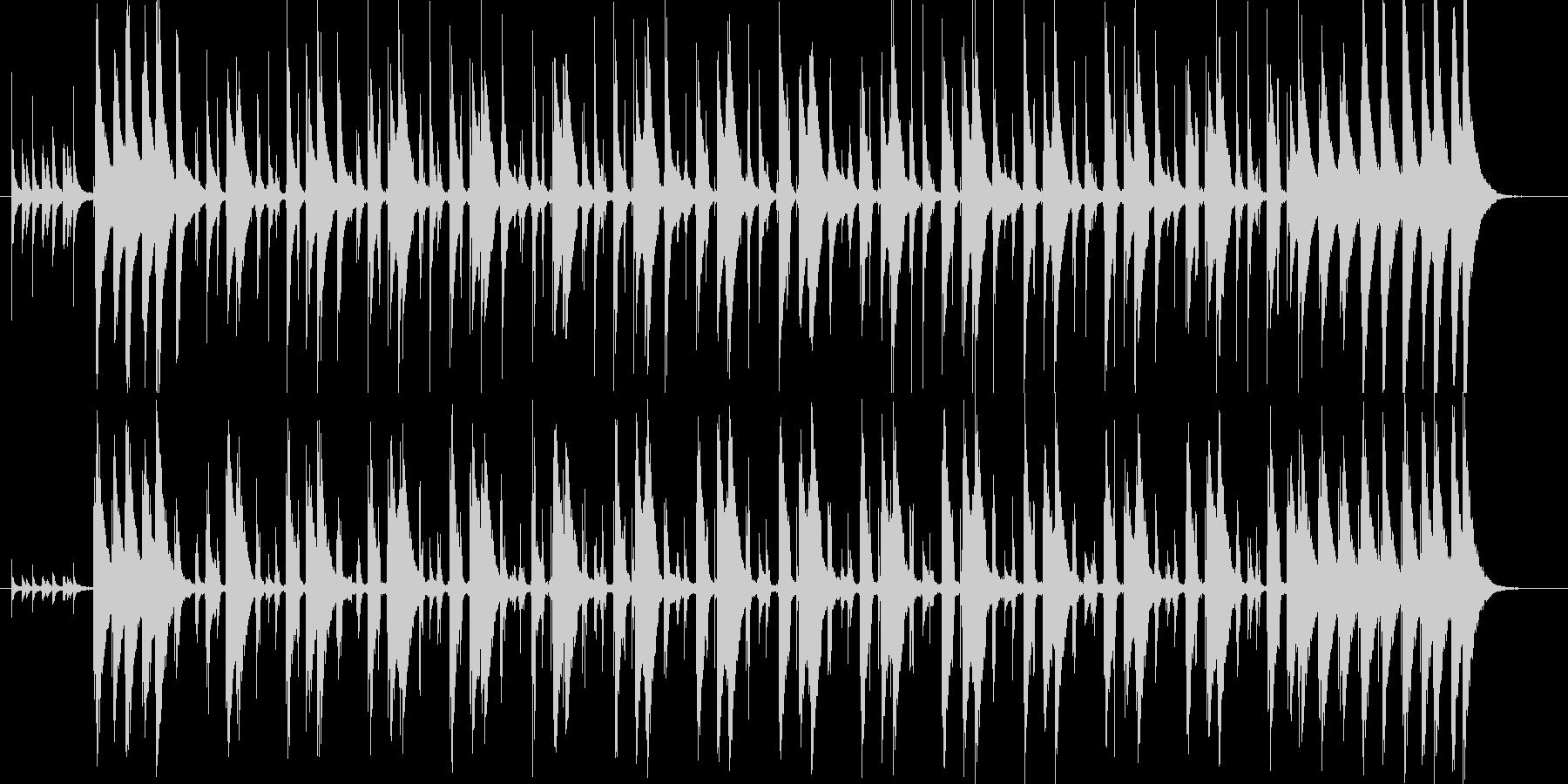 コンガの躍動するリズムLa Bomba1の未再生の波形