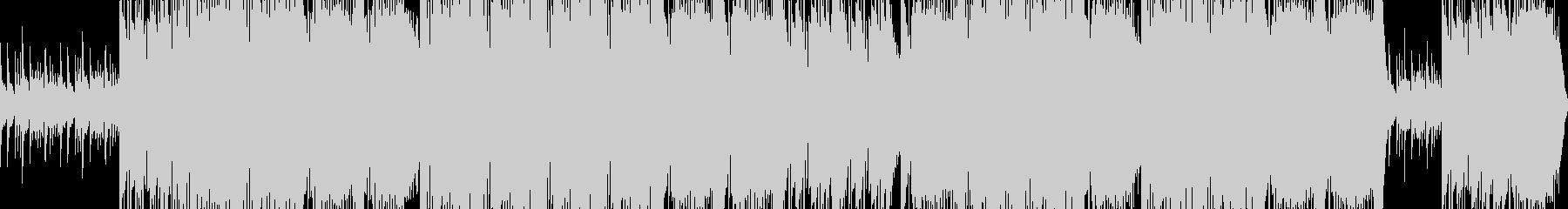 fancyなメロディの未再生の波形