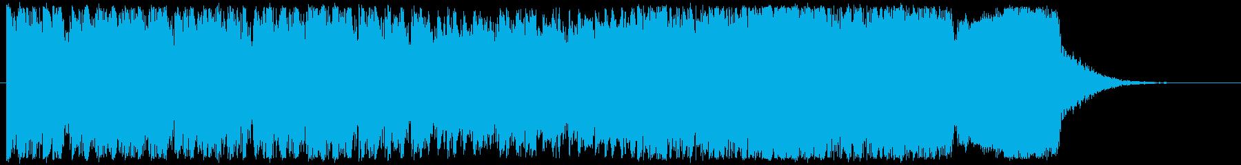 壮大なエピックソロヴォーカルとバイオリンの再生済みの波形