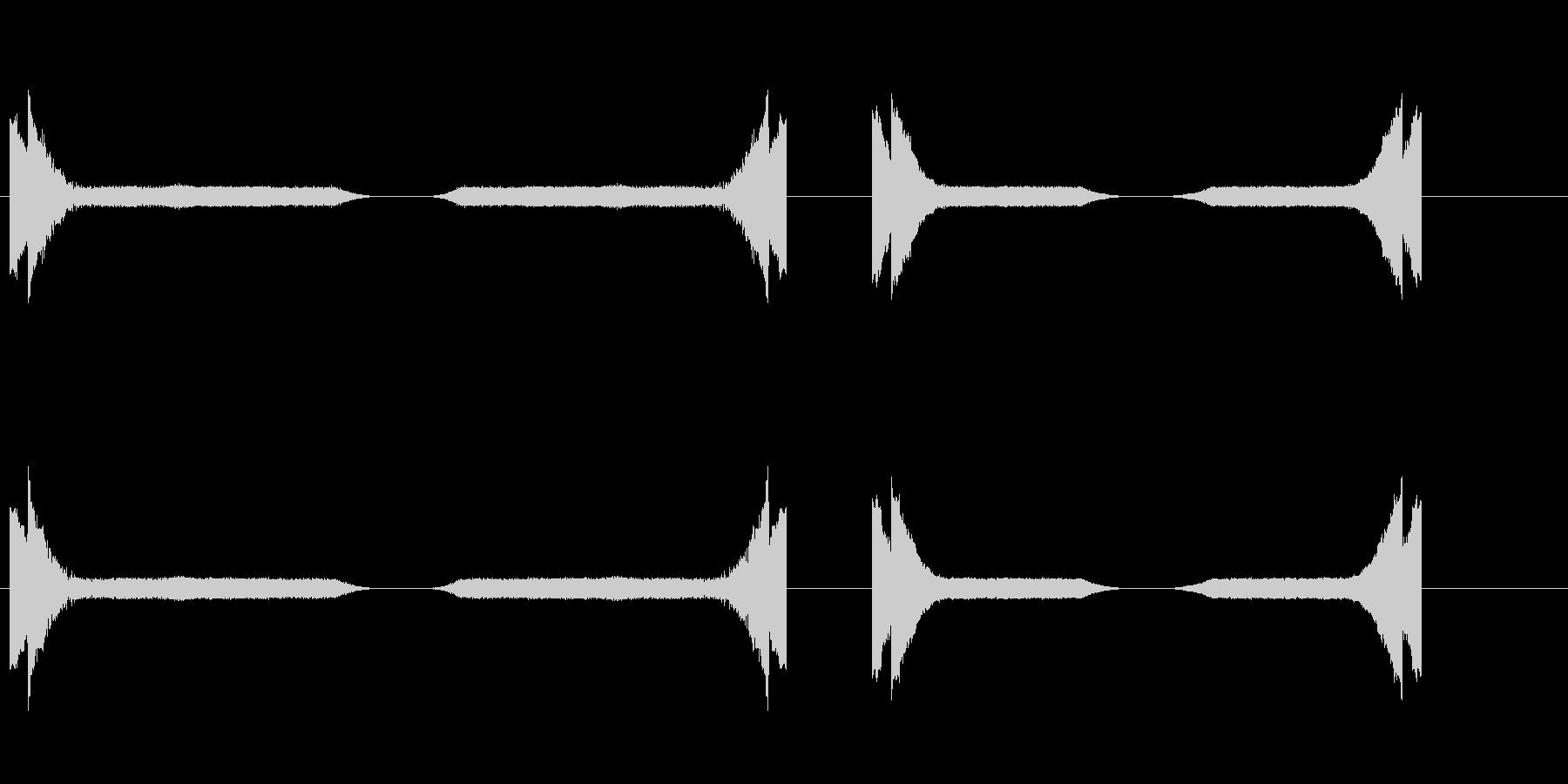 SPARKLES 2のさまざまな効果の未再生の波形