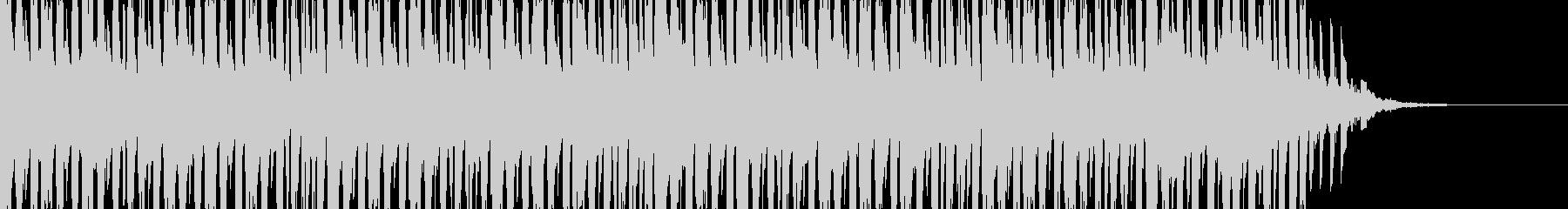 緊迫したビート ドラマティックなピアノの未再生の波形