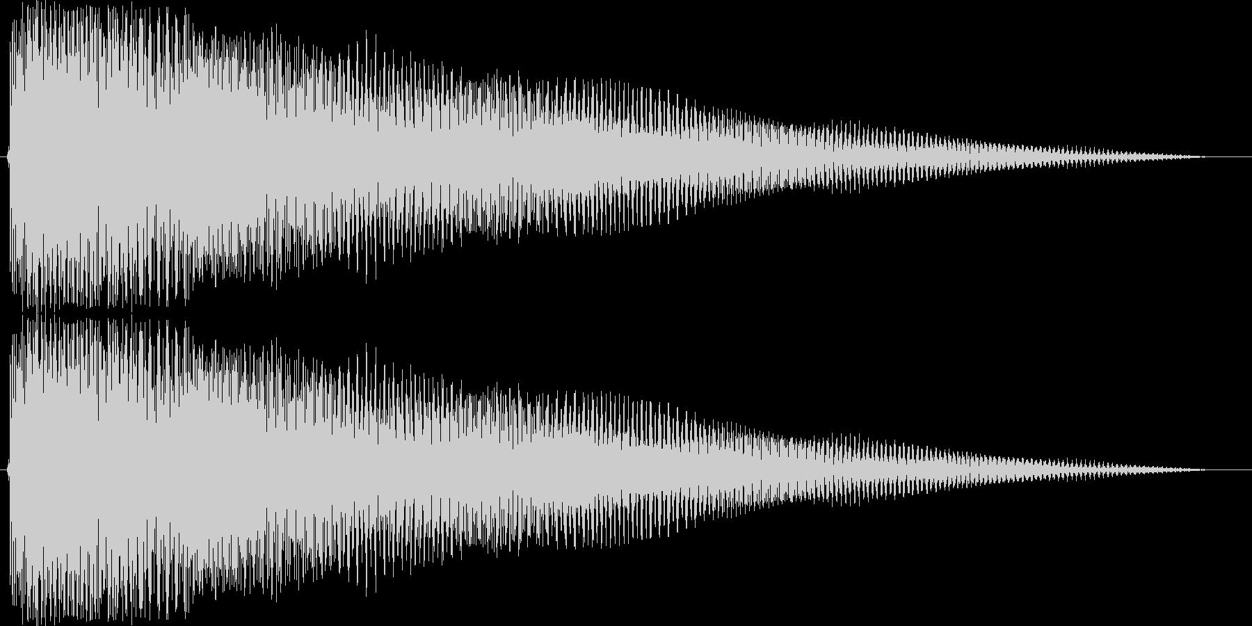 ジングル 切ないコードギターAの未再生の波形