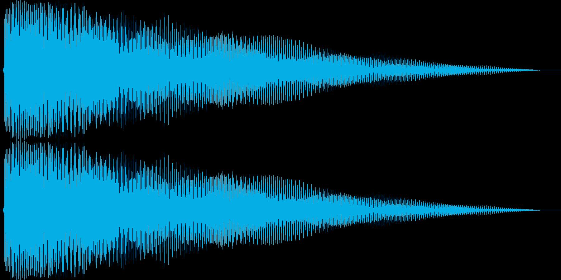 ジングル 切ないコードギターAの再生済みの波形
