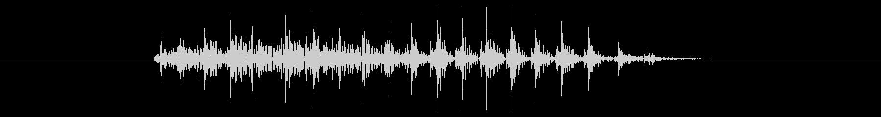 鳴き声 げっぷショート01の未再生の波形