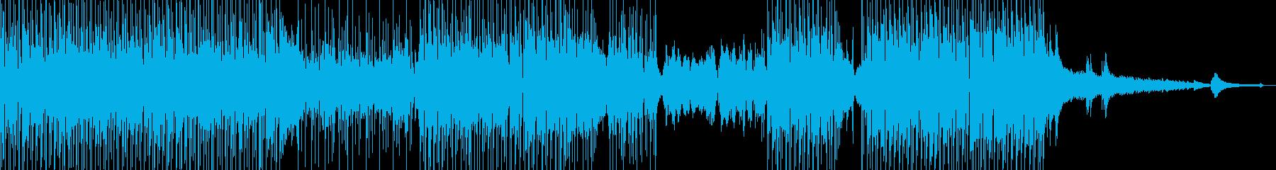 フルート・涼しい雰囲気 打楽器・短尺の再生済みの波形