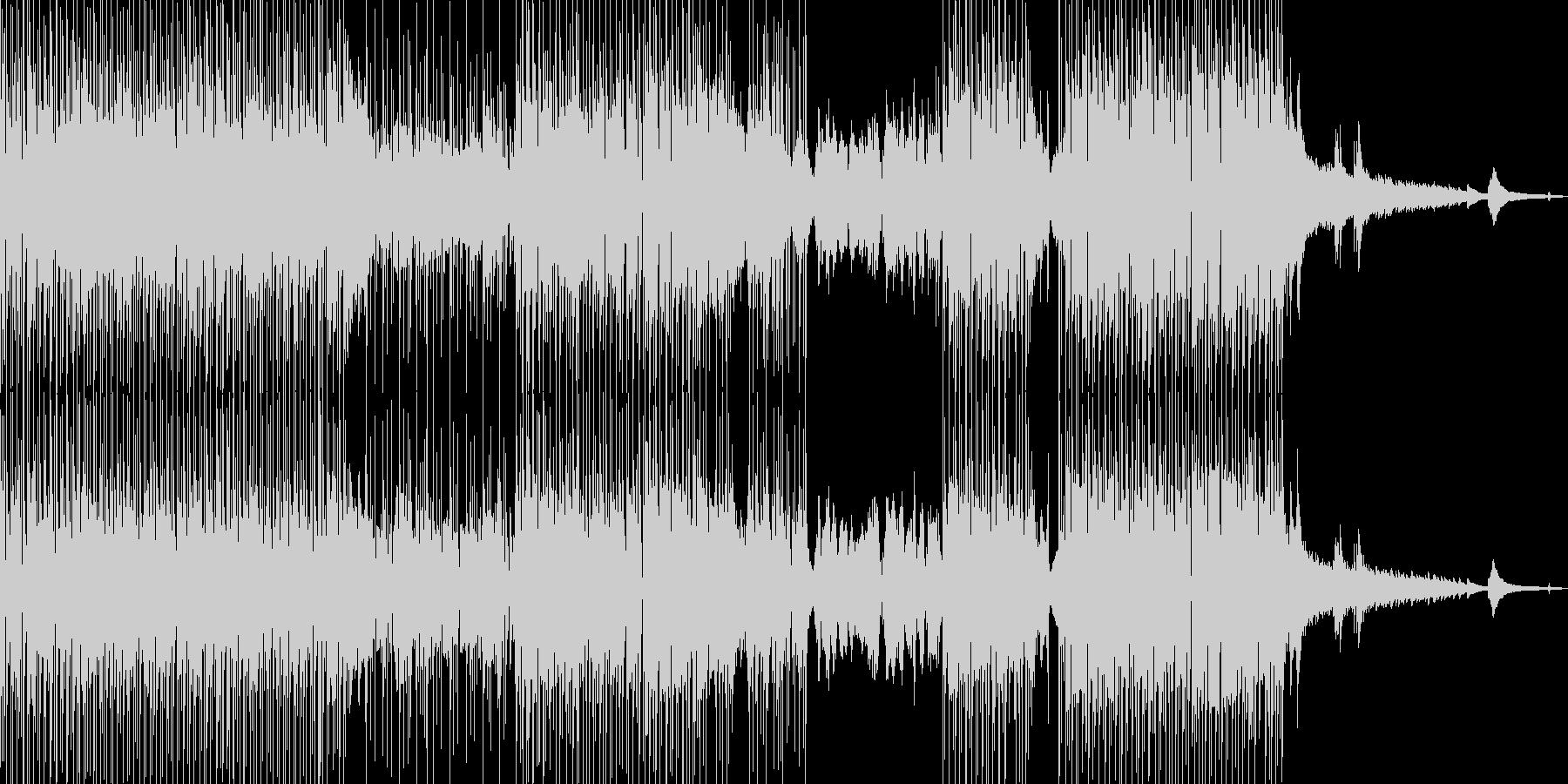 フルート・涼しい雰囲気 打楽器・Sの未再生の波形