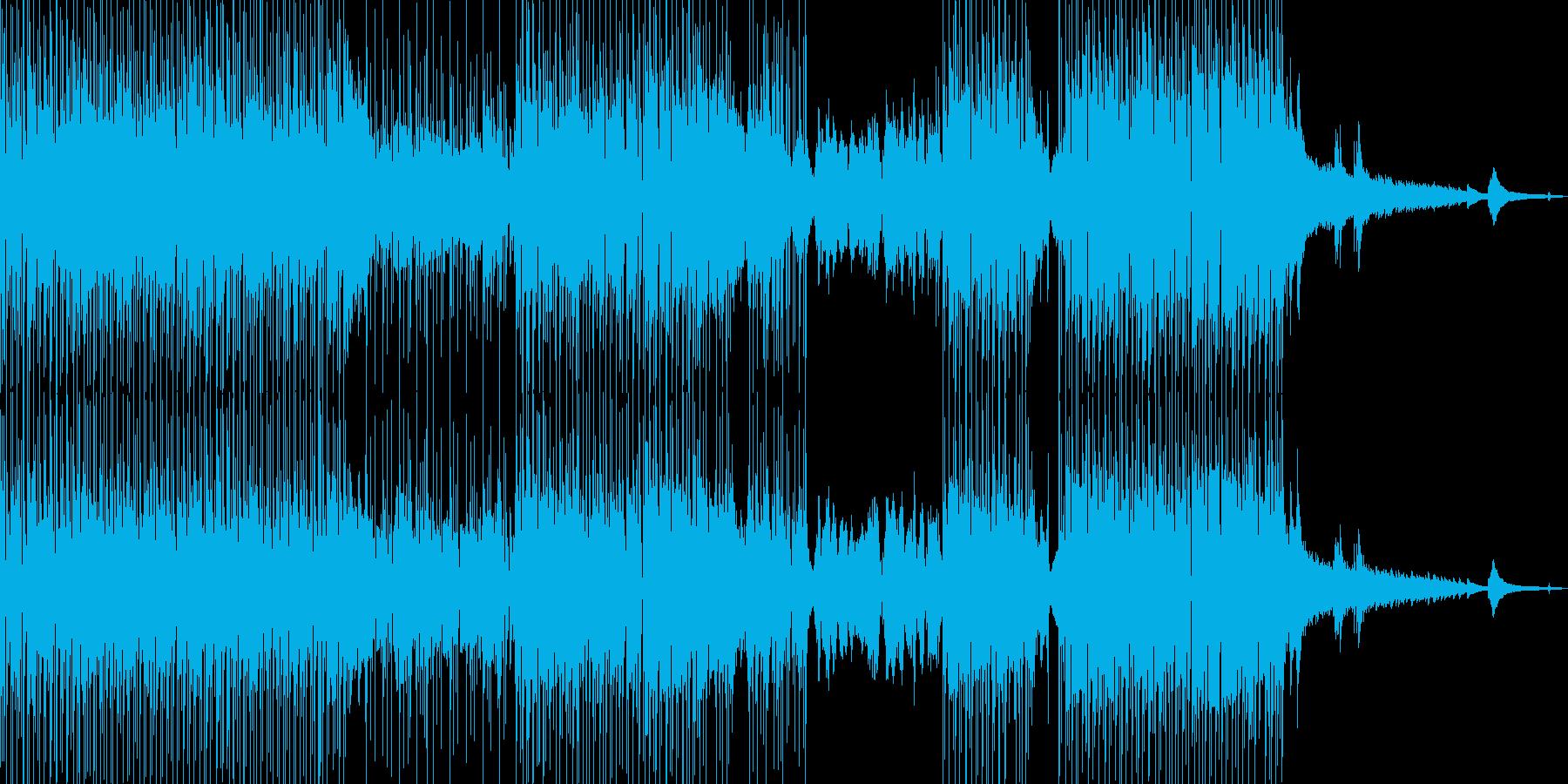 フルート・涼しい雰囲気 打楽器・Sの再生済みの波形