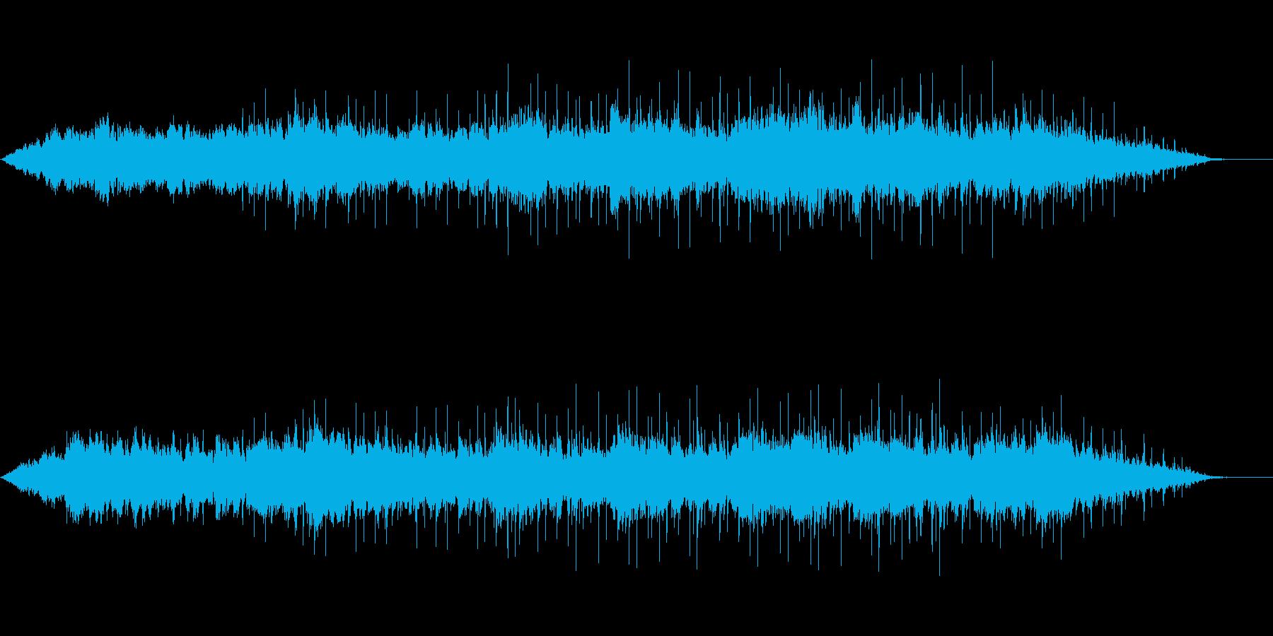 悲しい感じのピアノの再生済みの波形