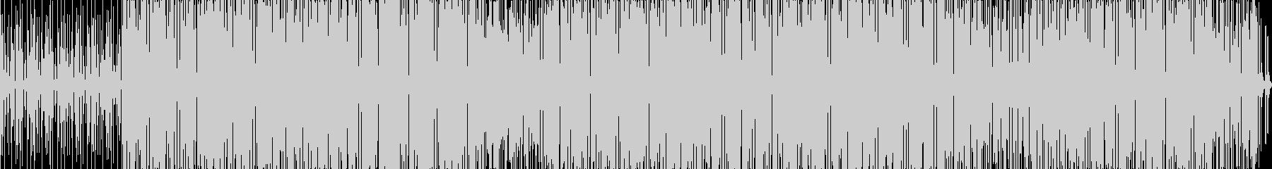 サルサとファンクの未再生の波形