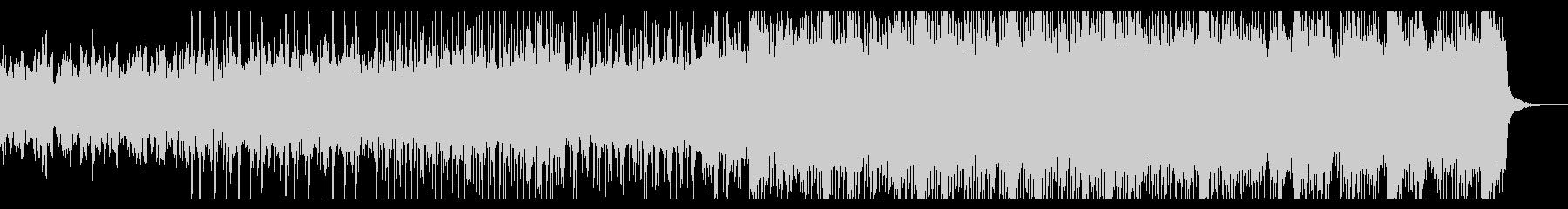 ゆっくりと忍び寄るアンビエントIDMの未再生の波形