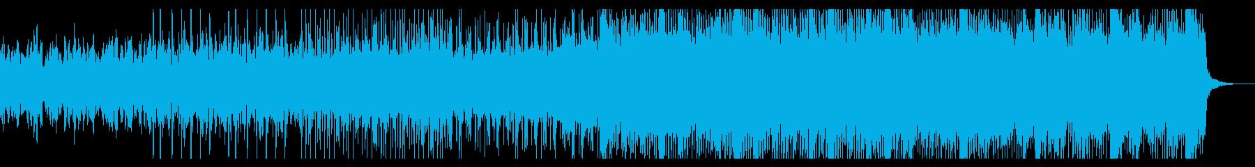 ゆっくりと忍び寄るアンビエントIDMの再生済みの波形