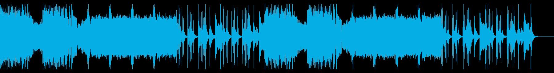 ダークでゆっくり、ハロウィンのムードの再生済みの波形