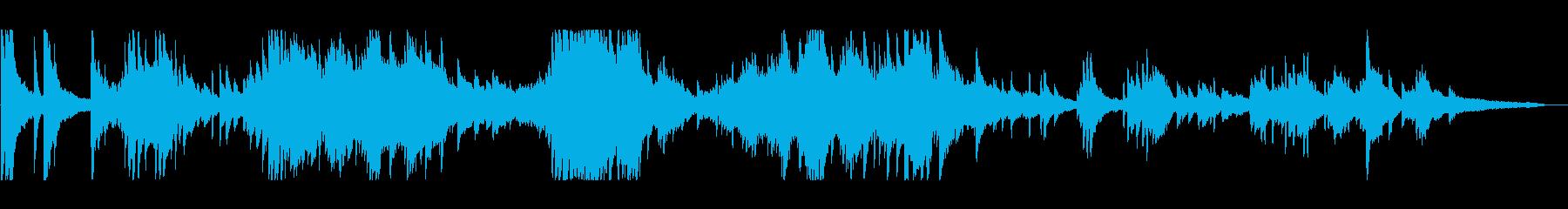 生演奏 クラシック風 優しく美しいピアノの再生済みの波形