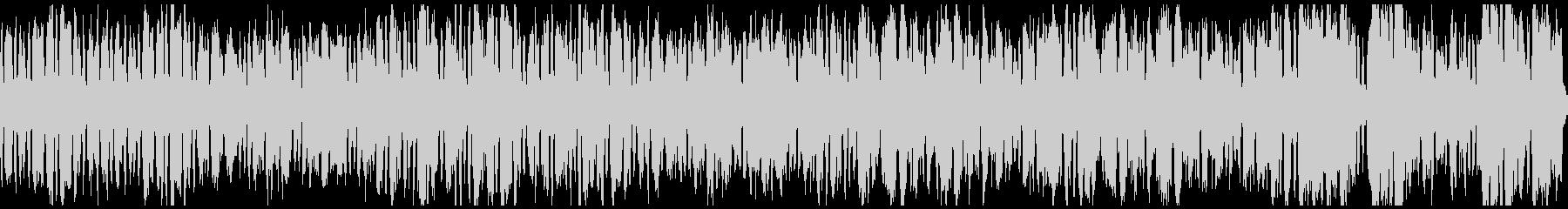 軽快な金管五重奏・ループの未再生の波形