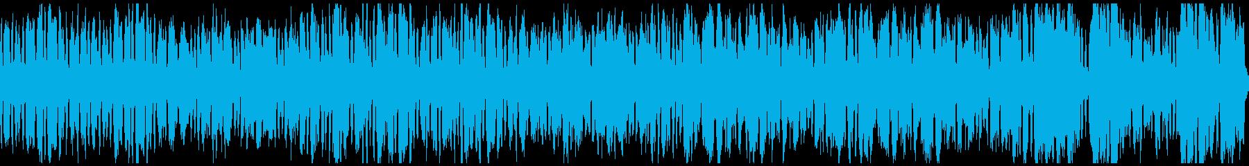軽快な金管五重奏・ループの再生済みの波形