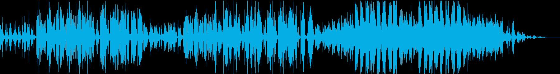 蒼い魚の再生済みの波形