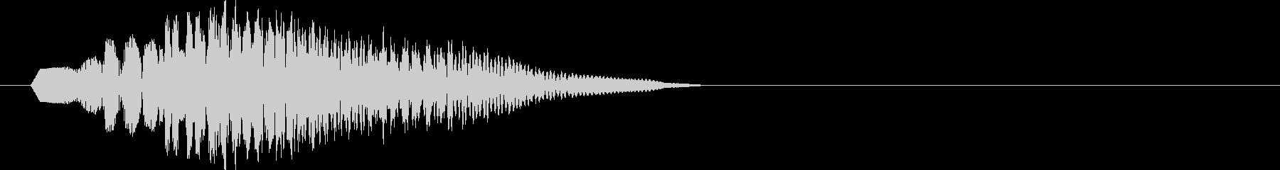 テロップ・通知やアクション2bの未再生の波形