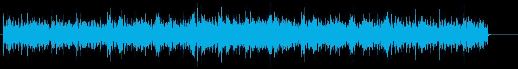 中華風_BGMの再生済みの波形