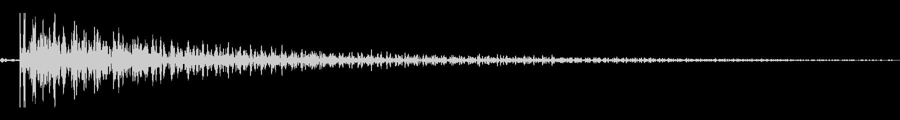 ボワン(コミカルな残念音)の未再生の波形
