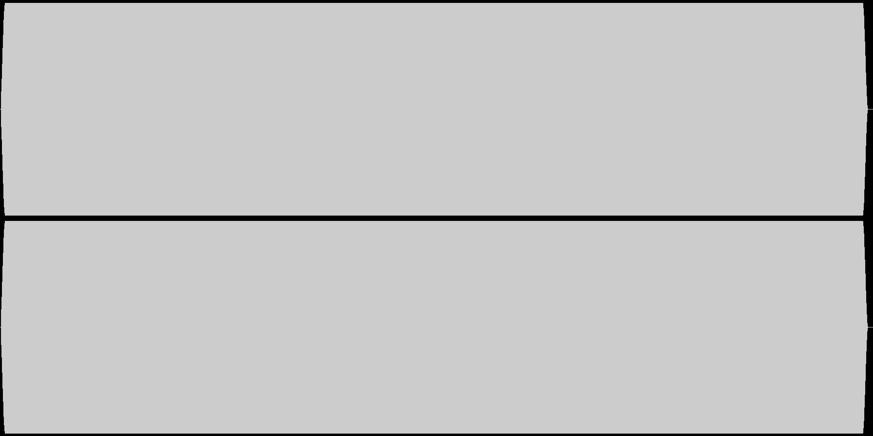 ピー音 自主規制音 (約4秒)の未再生の波形