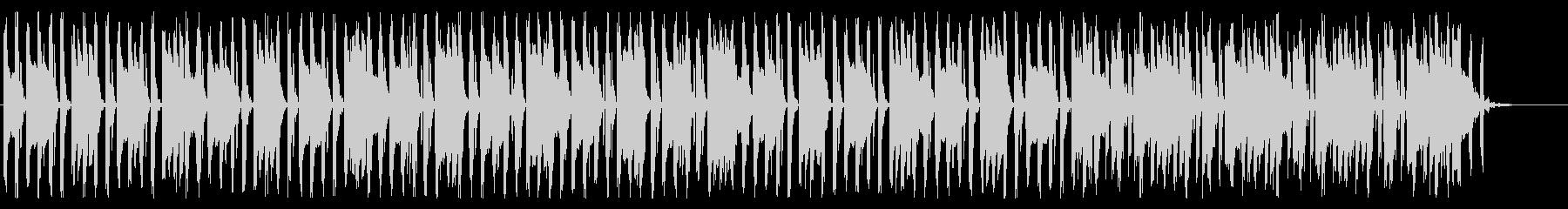 クラシック調の8bitチップチューンの未再生の波形
