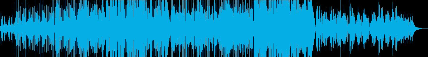 ノラジョーンズ風アコースティックバラードの再生済みの波形