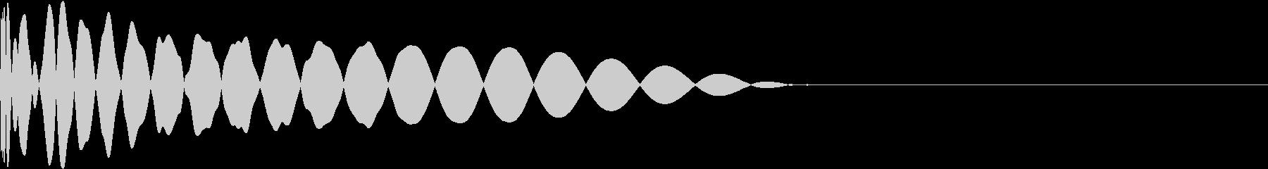 DTM Kick 34 オリジナル音源の未再生の波形