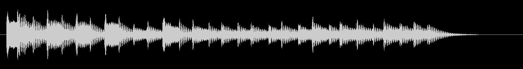 メタルチャイム:ショートトリル、漫...の未再生の波形