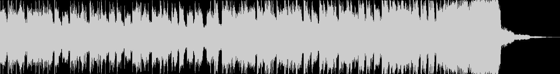 チルアウトカッコいいトロピカルハウスdの未再生の波形