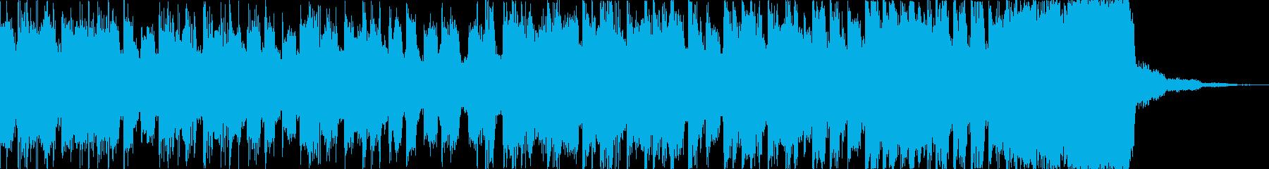 チルアウトカッコいいトロピカルハウスdの再生済みの波形