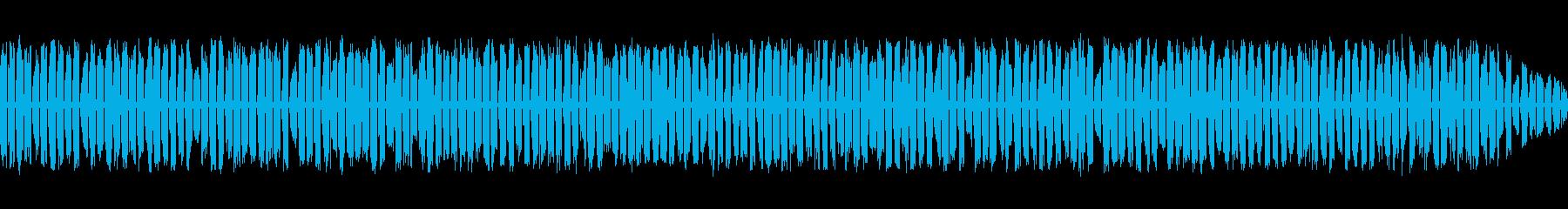 コンピューターベッドの再生済みの波形