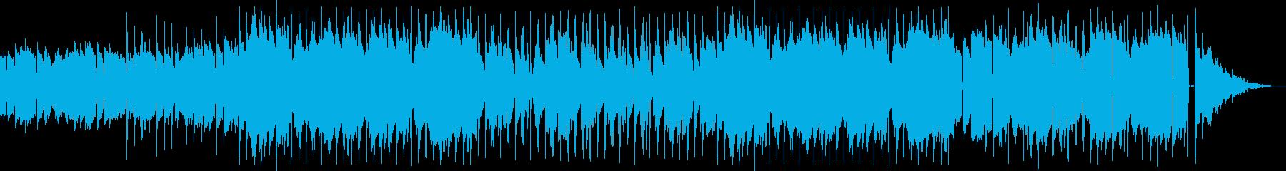 lo-fi hip-hop9の再生済みの波形