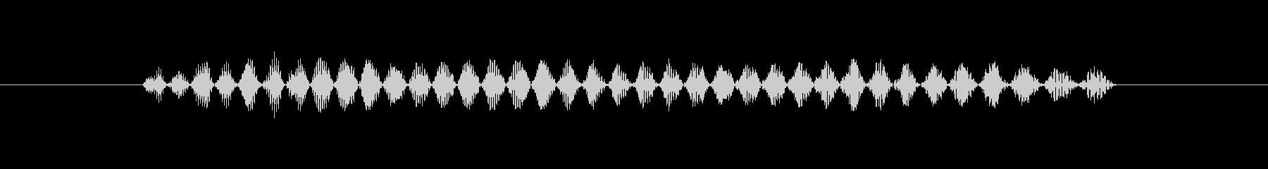 奇妙な鳥のような生き物鳥のような生き物の未再生の波形