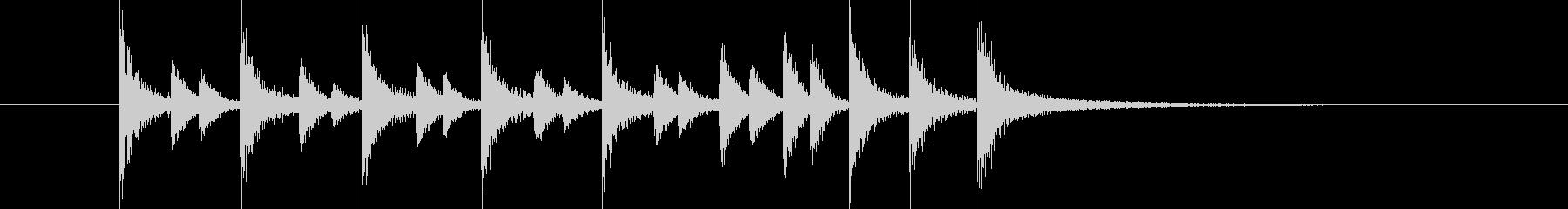 ドラム/ティンバレス フィルイン 1の未再生の波形