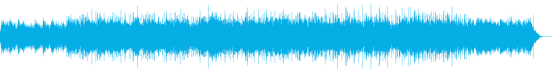 ダークなテクススチャの再生済みの波形