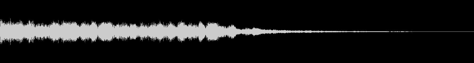 SF_選択、決定音9の未再生の波形