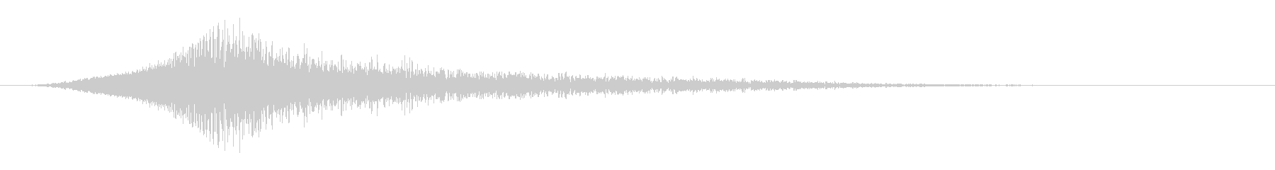 ディープパチパチスイープ1の未再生の波形