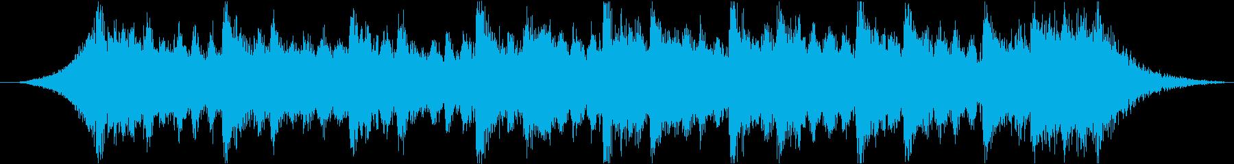 感動壮大ポジティブオーケストラエピックdの再生済みの波形