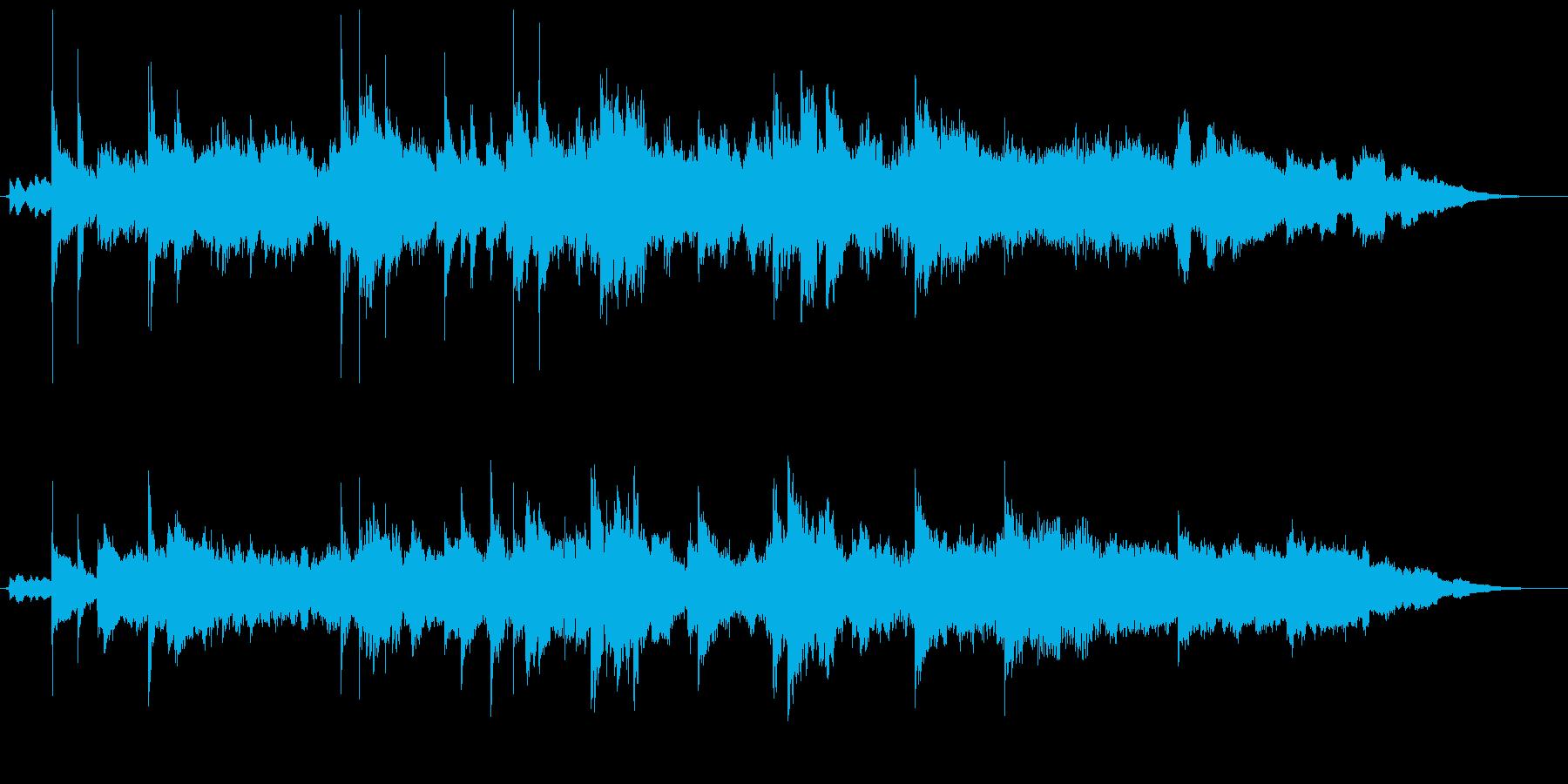 背景音 異世界 2の再生済みの波形
