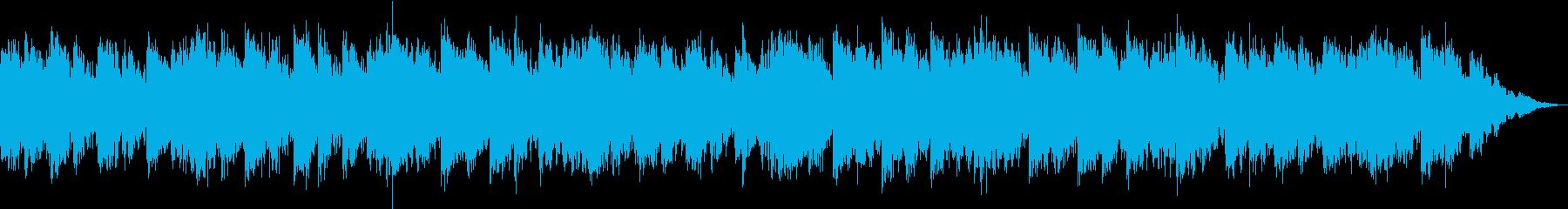 優しいテイストに仕上がったヒーリング音楽の再生済みの波形
