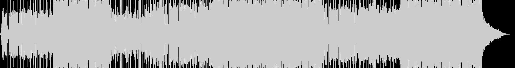 陽気でポジティブなポップロックミュージッの未再生の波形