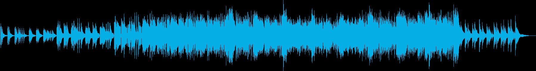 爽やかで高級感のあるピアノサウンドの再生済みの波形