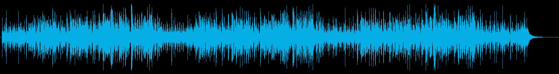 有名クリスマスソングをハワイアン風に編曲の再生済みの波形