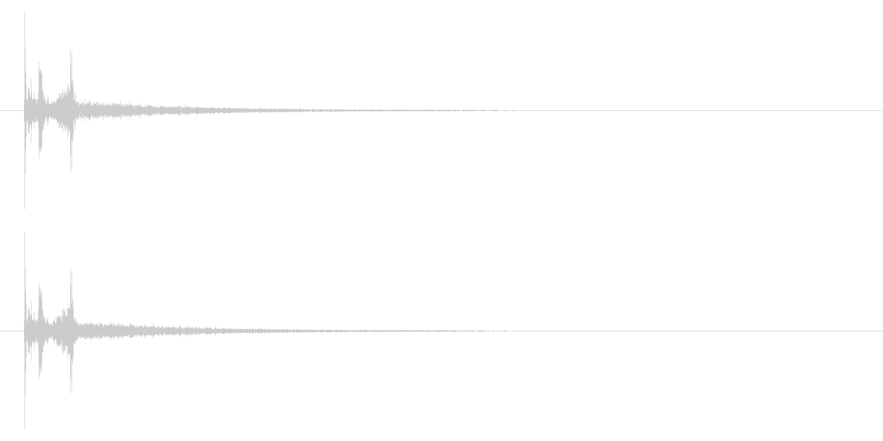 カメラ 携帯電話03-5の未再生の波形