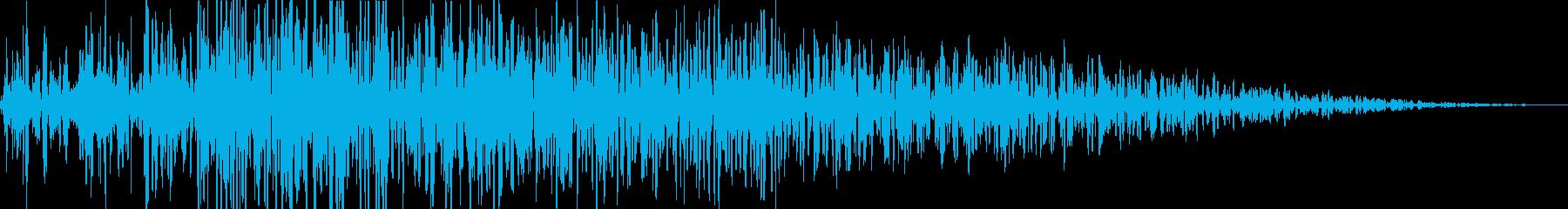 ボー(火炎放射)の再生済みの波形