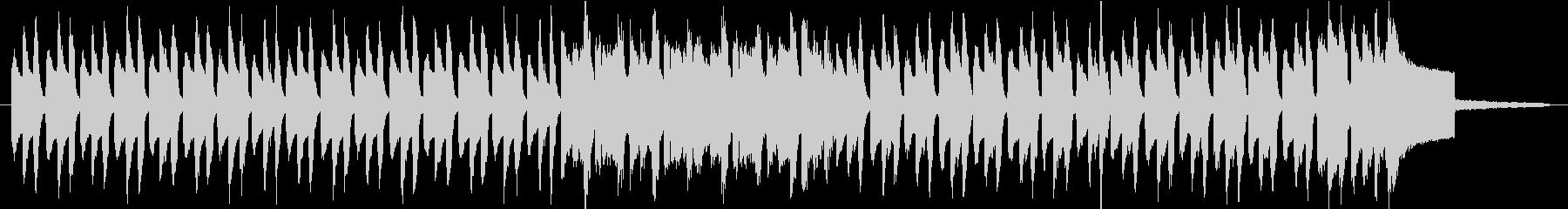 ほのぼのしたリコーダーのワルツの未再生の波形