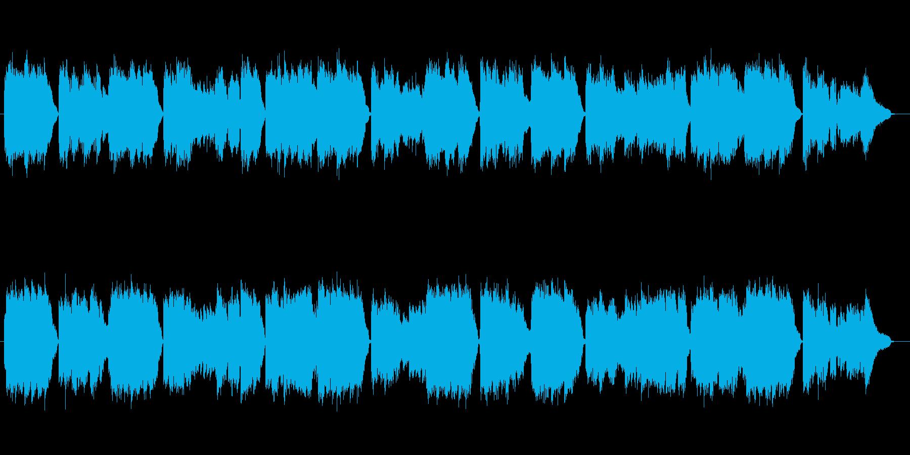 唱歌「荒城の月」厳かな篠笛生演奏の再生済みの波形